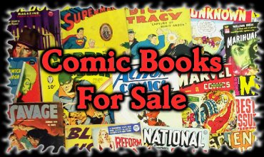 COMIC BOOKS from the 1930-'s to the present, pulps, art & more for AUCTION at ComicBidZ.com