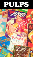 PULPS !! PAPERBACKS, BOOKS & MAGAZINES